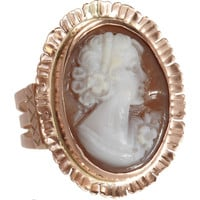 Sandra Dini Cameo Ring at Barneys.com