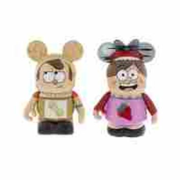 Gravity Falls - Vinylmation - 2-Pack- Strawberry Jam Mabel & Peanut Butter Dipper