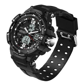 Promotion New Brand Sanda Fashion Watch Men G Style Waterproof Sports Military Watches Shock Luxury Analog Digital