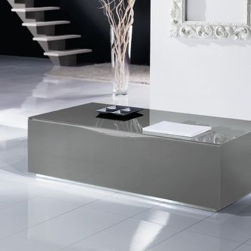Modern Italian Glass Coffee Table