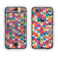 The Color Knitted Apple iPhone 6 LifeProof Nuud Case Skin Set