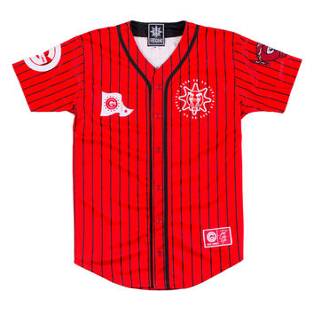 Team Glo Baseball Jersey (Red) – Glo Gang Worldwide