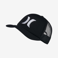 The Hurley One And Only Trucker Women's Adjustable Hat.