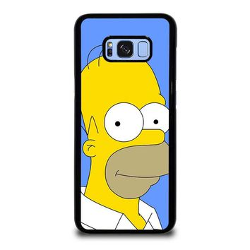 HOMER SIMPSONS Samsung Galaxy S8 Plus Case Cover