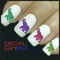 Elephant Nail Art Decals 32 Elephant Nail Decals