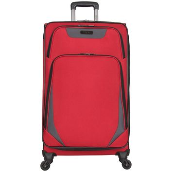 "$750 Kenneth Cole Reaction Going Places 28"" 600d Polyester Expandable 4-Wheel Spinner Luggage Suitcase"