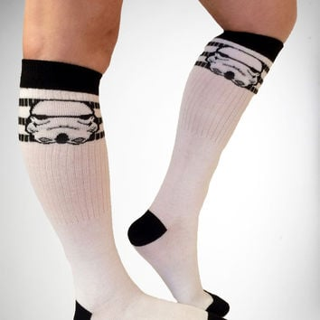 Star Wars Storm Trooper Knee High Socks