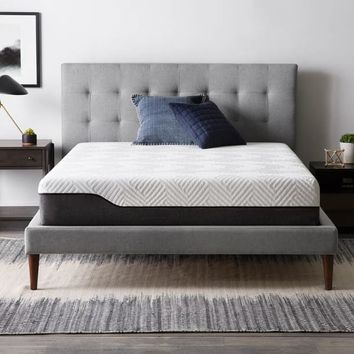 LUCID Comfort Collection 10-inch Queen-size Hybrid Mattress | Overstock.com Shopping - The Best Deals on Mattresses