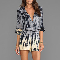 Blu Moon Boho Romper in Canyon