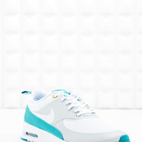 Nike Air Max Thea Trainers in Grey and Teal - Urban Outfitters
