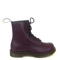 Dr. Martens – 1460 Smooth Leather 8 Eyelets Ankle Boots In Purple | Thirteen Vintage