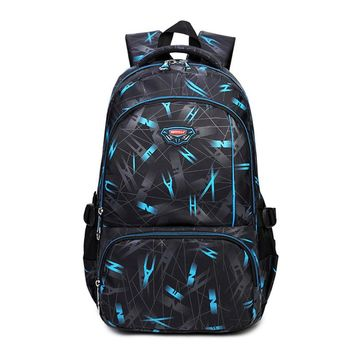Male Backpack Youth Fashion Teenage Backpacks For Teen Boys Bagpack Men Travel Bags Children's School Bag Sac A Dos Mochila