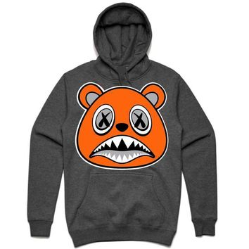 ORANGE BAWS Charcoal Heather Sneaker Hoodie