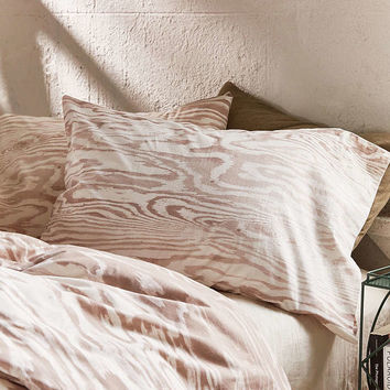 Printed Plywood Pillowcase Set - Urban Outfitters