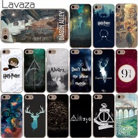 Lavaza 857X Harry Potter Welcome to Diagon Always Cover Case for iPhone X 8 7 6 6S Plus 5 5S SE 5C 4 4S for Apple