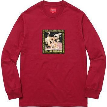 Supreme Best In The World Long Sleeve - Red