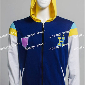 Free! Iwatobi Swim Club Free Eternal Summer Ryugazaki Rei Jacket Cosplay Costume