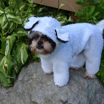 little bo peeps lost sheep halloween petdog costume size medium