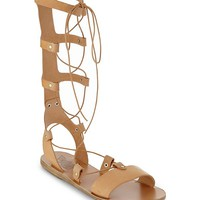 ANCIENT GREEK SANDALS - Thebes leather gladiator sandals | Selfridges.com