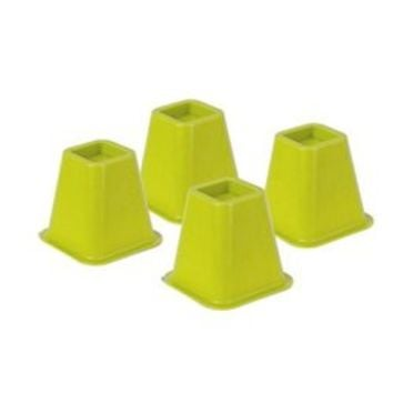 Colored Bed Risers - Lime