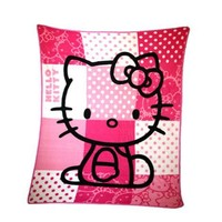 Sanrio Hello Kitty Plush Throw Blanket - Pink Plush Blanket