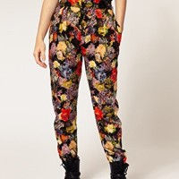 Paul by Paul Smith | Paul by Paul Smith Trousers In Floral Tapestry Print at ASOS