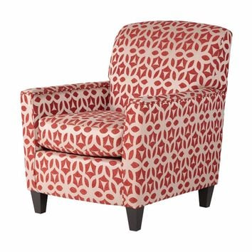 Ruby Red Accent Chair