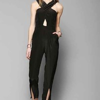 Maurie & Eve Glow Cutout Jumpsuit- Black