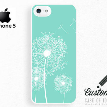 iPhone 5 4 Dandelion Case  Wish Seed  Samsung by CaseOfIdentity