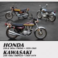 Clymer M305 Service & Repair Manual for Vintage Japanese Street Bikes