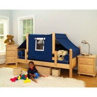 Maxtrix Kids Twin Daybed / Toddler Bed with Top Tent - Yo - Furniture