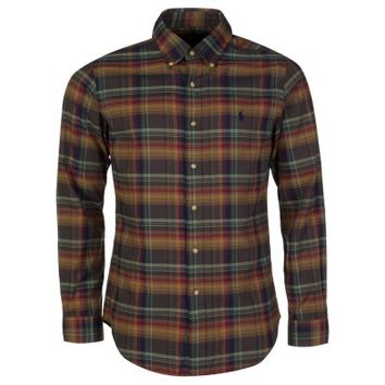 Polo Ralph Lauren Brown Check Slim Fit Shirt