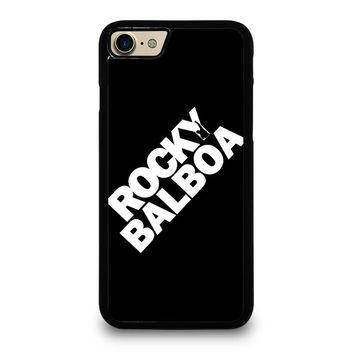ROCKY BALBOA LOGO iPhone 4/4S 5/5S/SE 5C 6/6S 7 8 Plus X Case