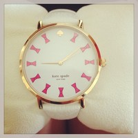 Kate Spade Gold and Pink Watch