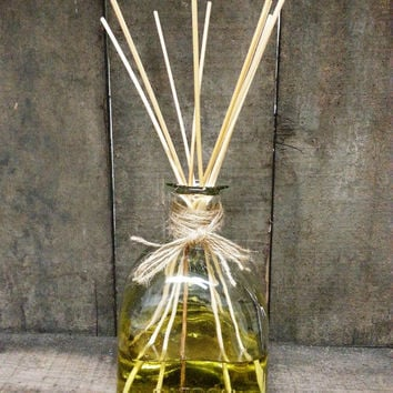 Patron Reed Oil Diifuser - Home Decor, Rattan Reed Oil Diffuser, Alcohol free, Made from Recycled Bottle