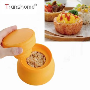 Japanese Style Cute Rice Cup Mould Baked DIY Rice Ball Mold Creative Lunch Box Gadget Kitchen Tool Roll Sushi Rice