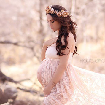 Shop Maternity Dress Etsy on Wanelo