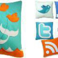 The Green Head - Social Networking Pillows