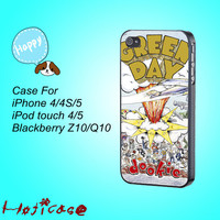 iphone 4 case,iphone 4s case,iphone 4 cases,iphone 5 case,Green Day Dookie,in plastic,silicone,cute ipod 4 case,cute ipod 5 case