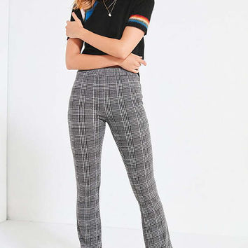 UO Plaid Kick Flare Pant | Urban Outfitters