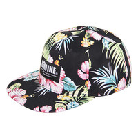 Genuine By Anthony Black Hawaiian Floral Snapback