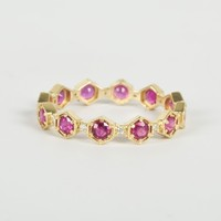 Catbird :: Katie Diamond :: Carina Ruby Band with Diamonds
