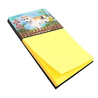 Siberian Husky Spring Sticky Note Holder CK1217SN