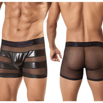 CandyMan Jail Striped Boxer Brief