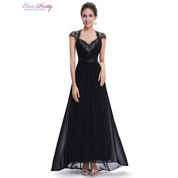 Evening Dresses Clearance Sale Sexy V Neck Cap Sleeve Long Formal Evening Dresses Maxi Formal Elegant Hot Party Women HE09867