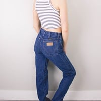 Vintage (SMALL) Wrangler High Waisted Denim Jeans