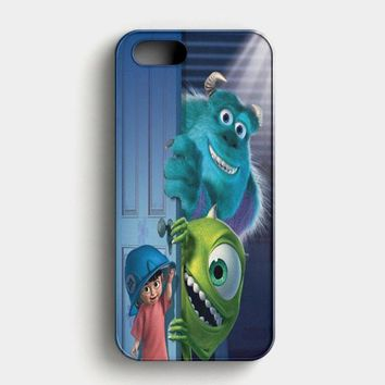 Monster Inc Disney iPhone SE Case