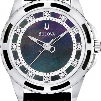 Bulova Ladies Quartz Watch 98P118