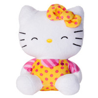 HELLO KITTY® Sitting Kitty Squeaker Dog Toy (COLOR VARIES)
