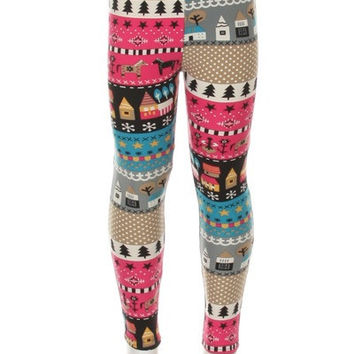Warmth of Home Kids Leggings